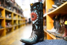 In-Store Glimpses / A peek into life at the Allens Boots store in Austin, Texas. / by Allens Boots