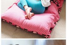 pillow bed how to make