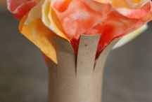 Coffee Filter Crafts / Great things to make with coffee filters