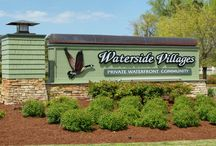 Waterside Villages of Currituck | Grandy, NC / Waterside Villages is the perfect community for growing families and retirees looking for a small town waterfront lifestyle in a secure, gated community.  Prices begin for lot/home packages begin in the low $200's. Visit our model homes open daily.