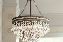 swing on the chandelier
