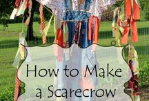 Scarecrows / Scarecrow thematic fun for kindergarten math, reading, social studies, art, music, writing, and science.