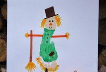 Fall Kid Craft Ideas / by Melissa Pilchard