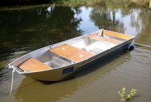 Barque de peche en alu soudee à fond plat Barca da pesca 3600 MODEL / Barque de pêche Barque en aluminium Barque légère Barque soudée Barque à fond plat Barque haut de gamme Barque design Barque d'occasion Barque alu BARQUE ALUMINIUM DE 3 M 65 ET 1 M 22