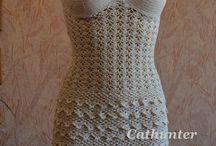 rochie crosetata