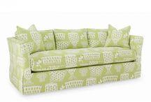 Summer House Upholstered Furniture / by Cottage Home, Inc & Distinctive Cottage Blog