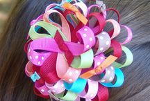 GIRLS HAIR ACCESSORIES / by Jac Caver