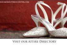 Wedding Attire: shoes, veils, garters...