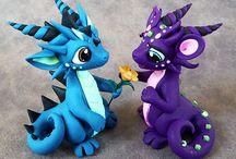 dragon and beasties