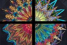 Kaleidoscop quilt