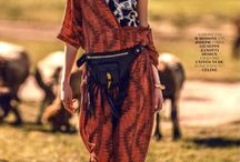 Tribal Inspired Fashion / Ethnic fashion and style.