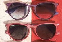 Shades & Sunglasses / IF The Sun Too Bright Wear Shades, If You Can't See Wear Glasses  / by kaylaa Bangson