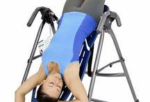 Inversion Therapy / Inversion can be done with Inversion tables or Gravity boots.