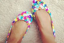 shoes, wedges + soles. / If I had a cent for every shoe that I loved... / by Kym Piez