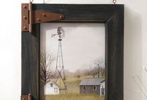 rustic, country shabby