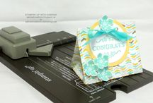 SU Gift Bag Punch Board