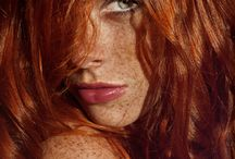 Red Hair / Red Hair/Fashion/Beauty/Hair/Lifestyle/Freckles/People