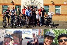 Cycle to Work Day / Team Dental Design ditched their cars in favour for bikes to raise money for National Smile Month! We all set off at our usual times and noted the time difference. In the end we covered 83.9 miles and raised a massive £419! Thanks to Cyclexperience - Wareham for the bike hire!