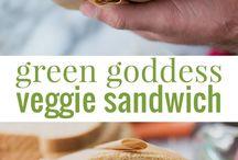 Ricette: sandwiches vegetarian