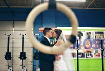 Crossfit Engagement Photos / by Andrea Paradowski Photography