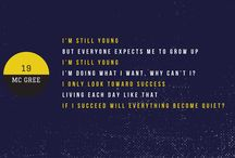 Wallpaper / Desktop wallpaper with KHH quote's lyric