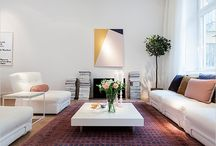 Persian rugs and modern interiors
