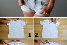 recycling the shirt