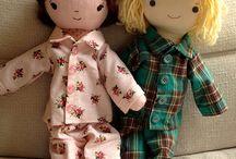 Rag doll pyjamas