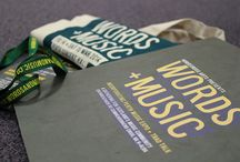 Words & Music Festival 2014 / Words & Music was a festival showcasing a wide range of music talent throughout Scotland. Here are some of the festivals identity that was produced. Designs by Darren Taylor   Darrentaylordesigns.co.uk