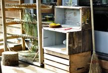 Kids garden space / by poppies for grace