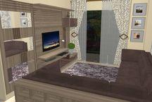 Projetos / projetos de interiores planejados com móveis modulados.