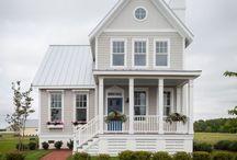 готовый дом снаружи и внутри