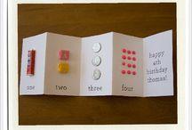 3. Biglietti, buste e scatoline... / Pensieri originali per l'altro