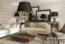 Luksusowy apartament w Kielcach / Mieszkanie eleganckie, stylowe w ulubionych przez właścicielkę kolorach Armaniego