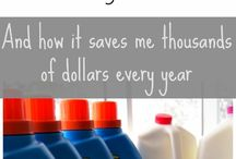 Saving money / by Molly Mahaffey