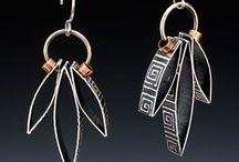 Earrings : Wire & Metal Only