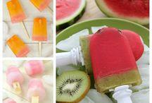 Jídlo ovocné nanuky