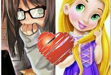 Disney & Anime!!