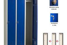 Vestiaire industrie propre / Découvrez les vestiaires Vestimetal spécialement conçus pour l'industrie propre.