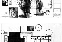Courtyard Garden Plans / Landscape design plans for student inspiration and learning. All plans can be enlarged to full size and printed/downloaded from Flickr, provided copyright acknowledgement is give to the Oxford College of Garden Design
