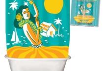Splish Splash / As I said to my hubby this morning - our bathroom shall be 50 Shades of Aqua / by Krista S