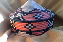 Африканская  техника плетения ,вязания