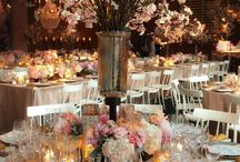 Wedding meal ideas / Centrepieces, table decorations, food