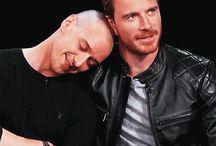 Charles & Magneto