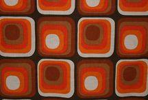 60s and 70s retro fabrics
