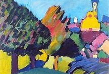 art- Wassily Kandinsky