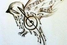 Music / Bia fazendo uma painel para seu tchuco. S2