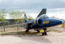 Grumman F11F Tiger / Pima Air & Space Museum : Tucson, Arizona 1990 Grumman F11F Tiger