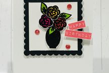 Painted Florals Stamp Set