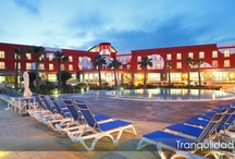 El Hotel - Exteriores / El hotel Spa Torre Pacheco de mucho espacio al aire libre, aproximadamente son unos17.000 m2 no edificados que conforman la zona terrazas, jardines, piscinas, padel, aparcamiento, y aceras.